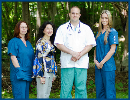 The Noank Mystic Hospital Team